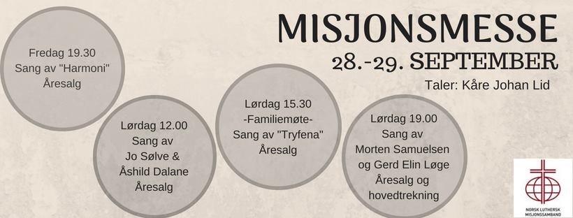 misjonsmesse 2018