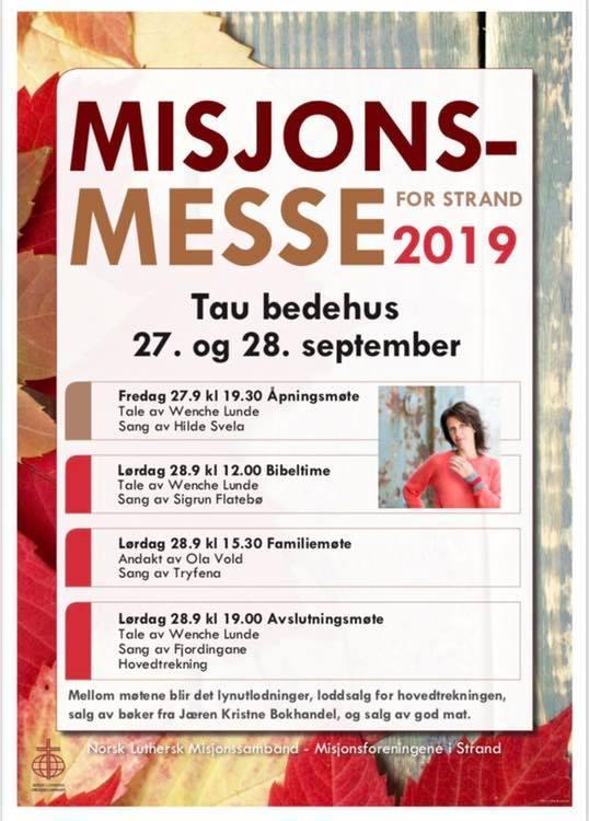 misjonsmesse 2019